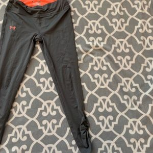 Grey under Armour cinched leggings